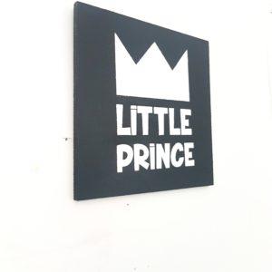 """little prince"" תמונת קיר מאוירת"
