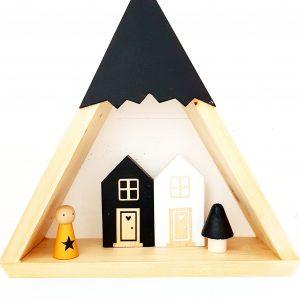 בית עץ רחב בעיצוב קלאסי