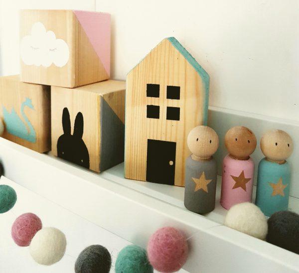 סט אישי לעיצוב חדר בנות