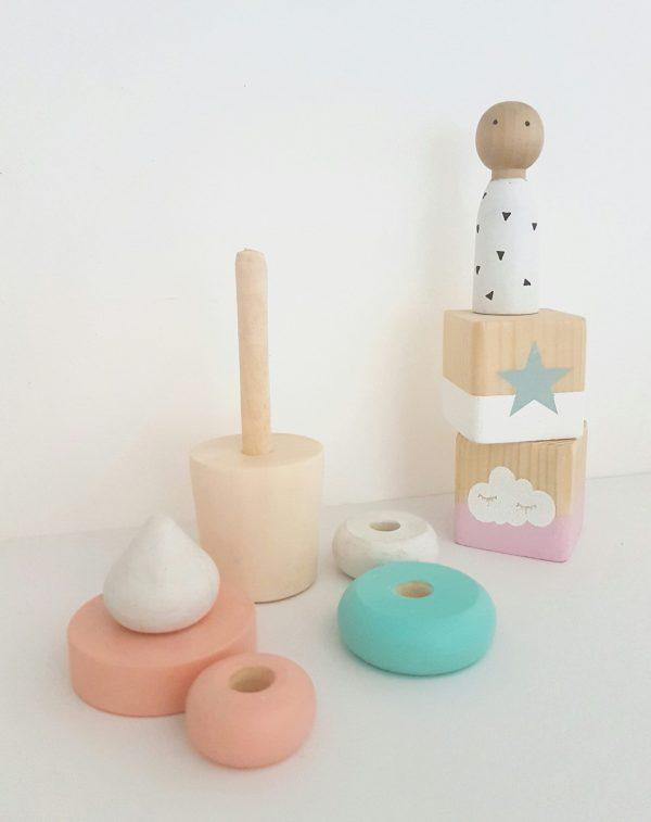 גלידה מעץ מלא לעיצוב