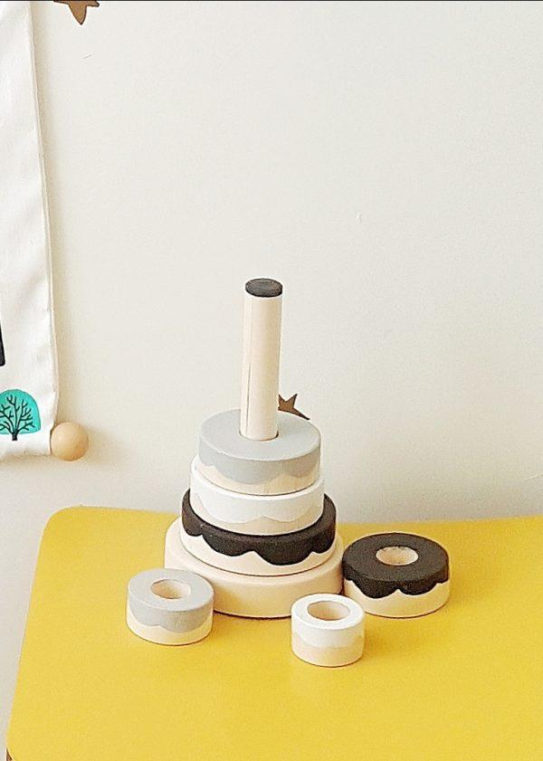 עוגת השחלת טבעות