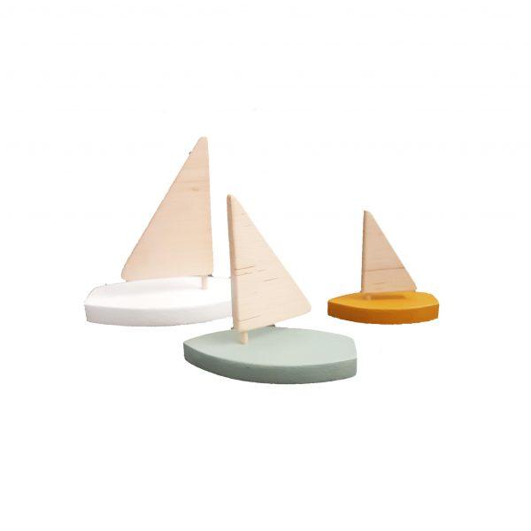 סט סירות מפרש
