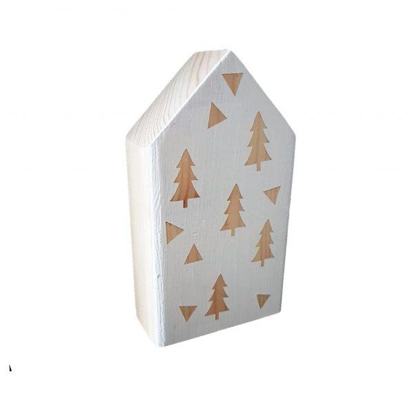 בית עץ רחב בעיצוב נורדי