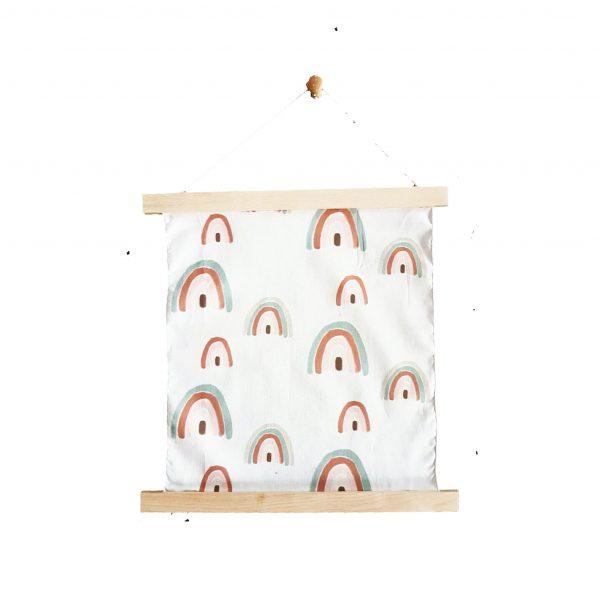 תמונת ציורי קשתות מכותנה