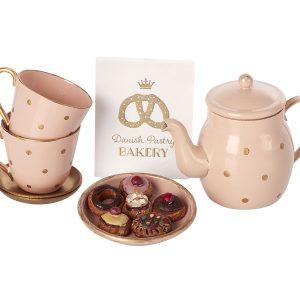 סט תה וביסקוויטים זוגי