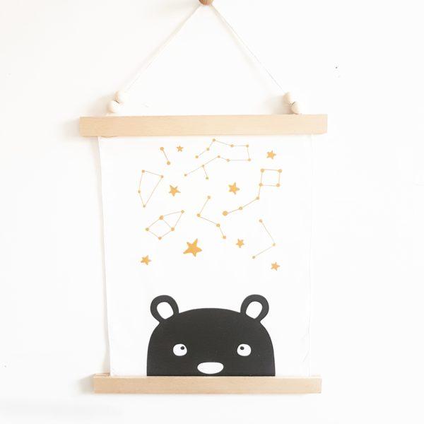 תמונת קשת הדובה הגדולה בשמי כוכבים