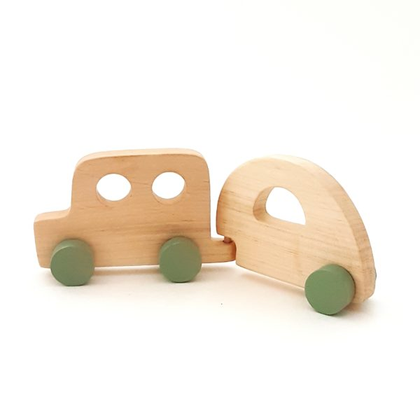 רכב טיולים בעבודת יד בשני חלקים