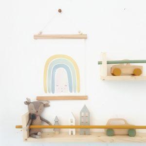 קיר בעיצוב הולנדי פשוט