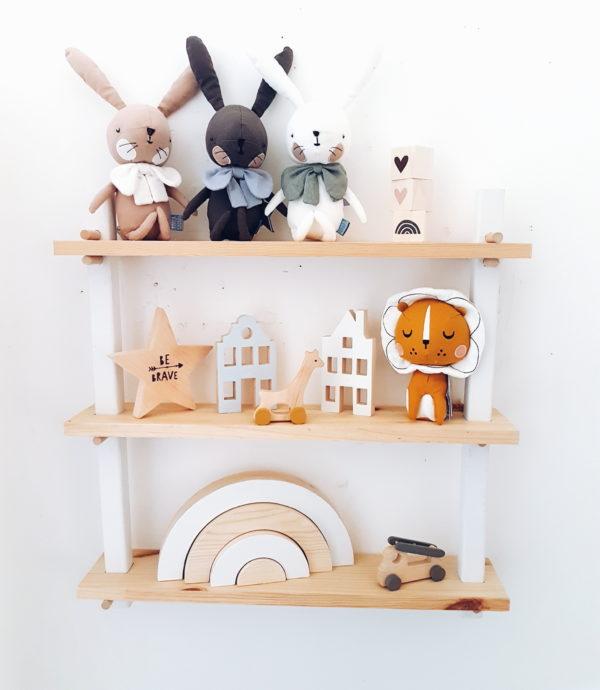 ארנב ורוד בתוך קופסת מתנה - Picca LouLou