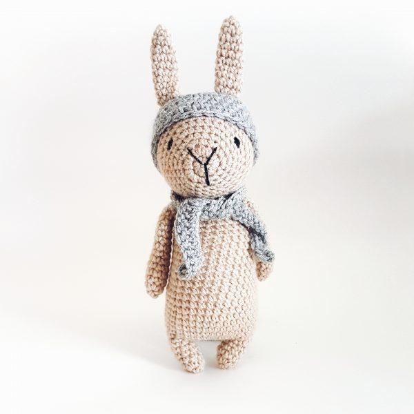 בובה סרוגה - ארנב חמוד
