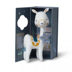למה לבנה בתוך קופסת מתנה - Picca LouLou