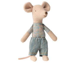 עכבר אח קטן בקופסת גפרורים