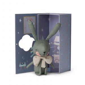ארנב ירוק בתוך קופסת מתנה - Picca LouLou