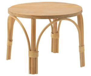שולחן ראטאן לבובות