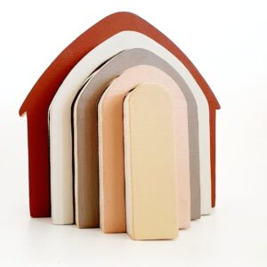 סטאקר בצורת בית רחב