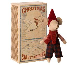 עכבר חג המולד בקופסה - אח גדול