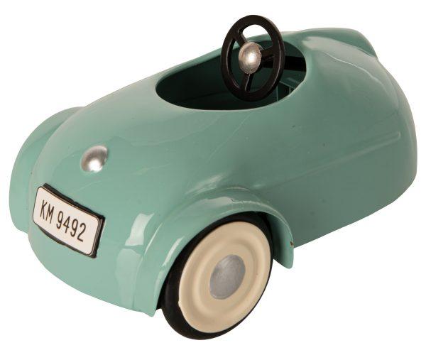 סט רכב וינטאג' עם עכבר - כחול