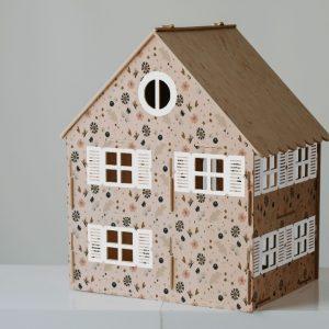 בית בובות קומותיים ענק לעיצוב החדר