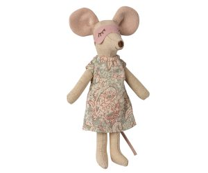 עכבר ועכברה בקופסת סיגרים מהודרת