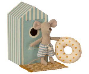 עכבר חוף, אח קטן בביתן חוף