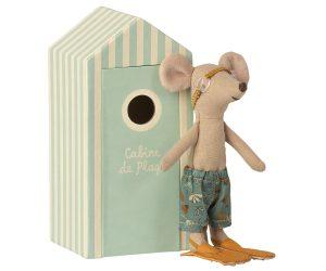 עכבר חוף, אח גדול בביתן חוף